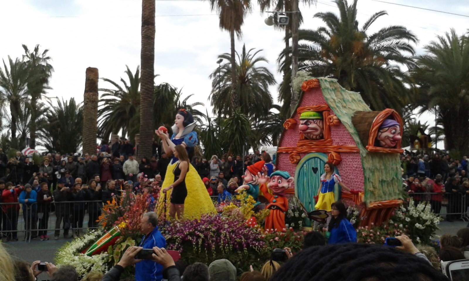 Carnevale dei fiori Sanremo 2016
